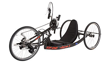 Handcycling wheelchair racer