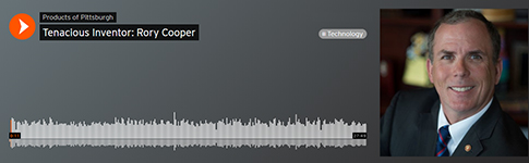 Soundcloud interface featuring Rory Cooper